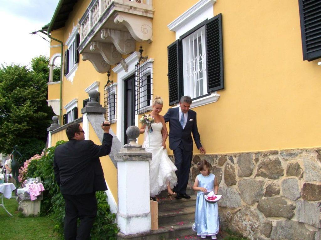 Hochzeit See-Villa