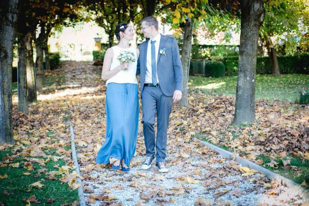 Hochzeit in der See-Villa