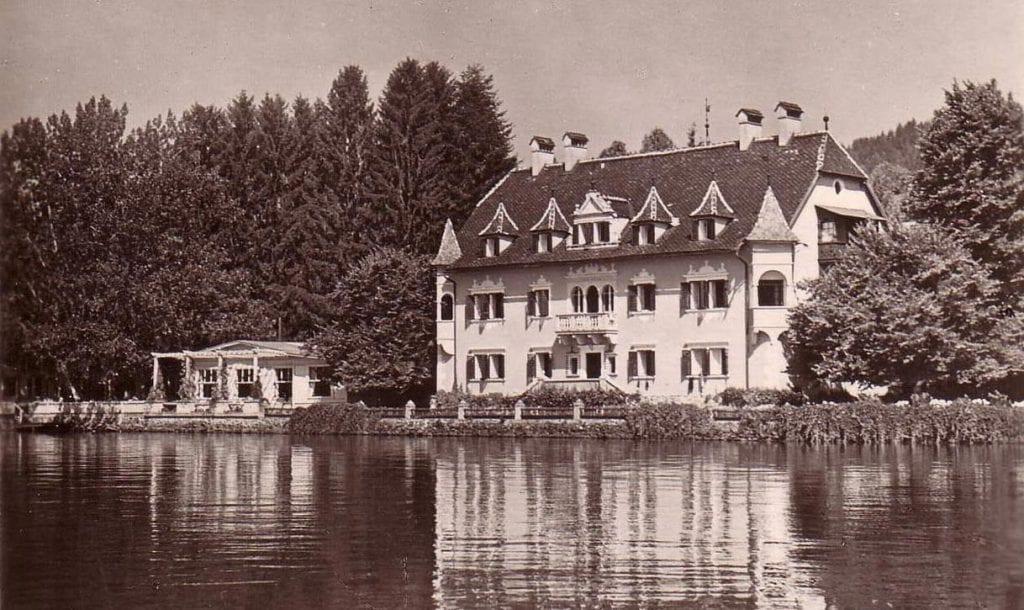 See-Villa historisches Foto