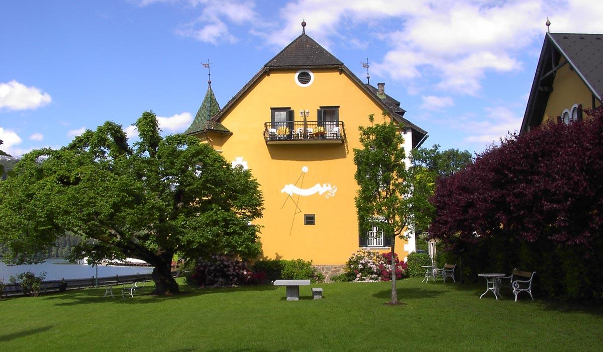 Schlosshotel See-Villa Tacoli und Garten - Hotel am Millstätter See in Kärnten