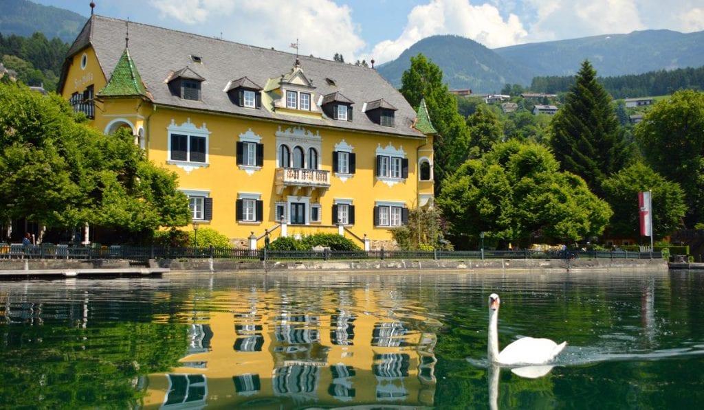 Schlosshotel See-Villa Tacoli - Hotel am Millstätter See in Kärnten