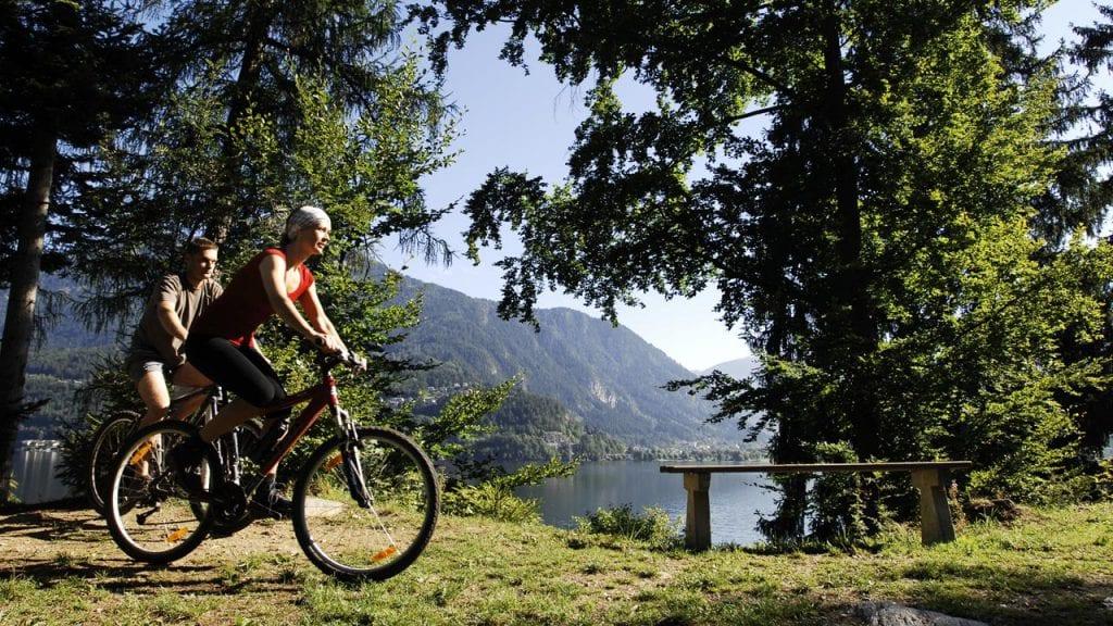 Radfahren Millstätter See