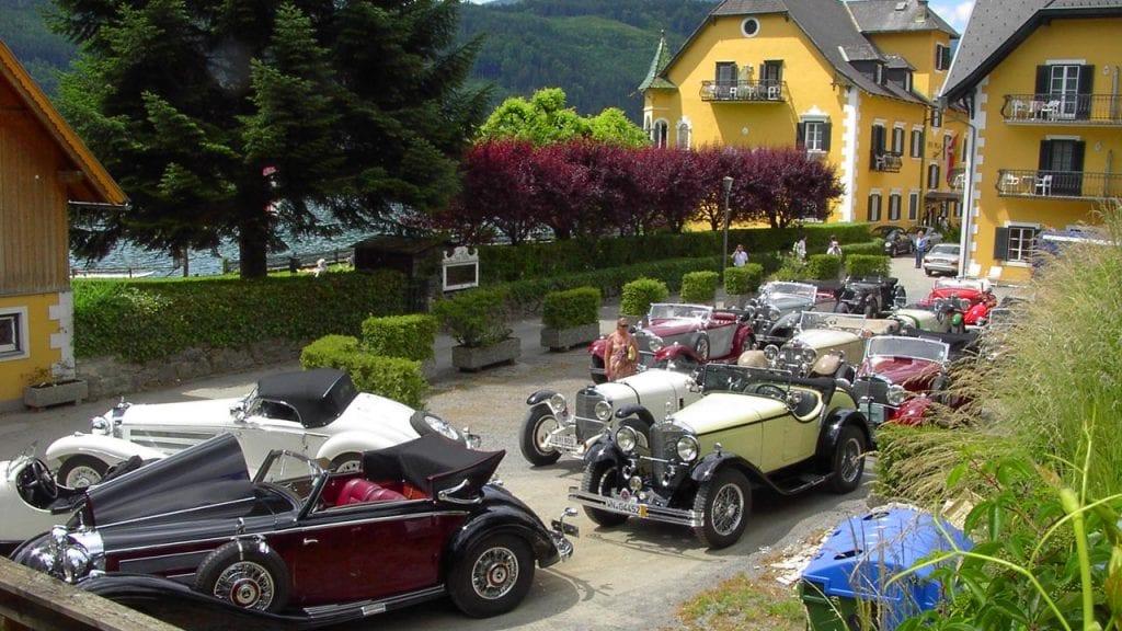 Oldtimer-Treff in der See-Villa